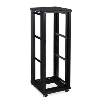 "Kendall Howard 37U LINIER Open Frame Server Rack - No Doors or Side Panels - 24"" Depth"