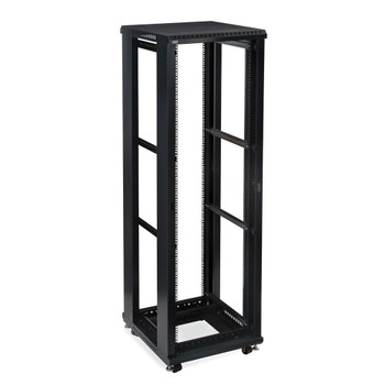 "Kendall Howard 42U LINIER Open Frame Server Rack - No Doors or Side Panels - 24"" Depth"