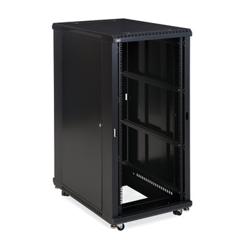"Kendall Howard 27U LINIER Open Frame Server Rack - No Doors - 36"" Depth"