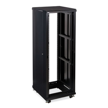 "Kendall Howard 37U LINIER Open Frame Server Rack - No Doors - 24"" Depth"