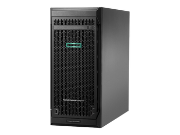 HPE ProLiant ML110 G10 4.5U Tower Server - 1 x Xeon Silver 4110 - 16 GB RAM HDD SSD - Serial ATA/600 Controller
