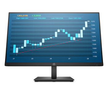 """HP P244 23.8"""" Full HD LED LCD Monitor - 16:9 - In-plane Switching (IPS) Technology - 1920 x 1080"""
