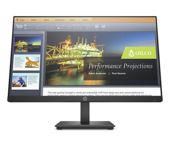 "HP P224 21.5"" Full HD LED LCD Monitor - 16:9 - 1920 x 1080 - 250 Nit - 5 ms GTG - HDMI - DisplayPort"