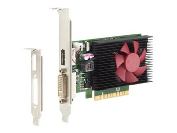 HP GeForce GT 730 Graphic Card - 2 GB GDDR5 - Low-profile - 900 MHz Core - DisplayPort