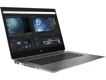 HP ZBook 15 Studio x360 G5 W10P-64 i7 8750H 2.2GHz 2-512GB NVME 32GB(2x16GB) 15.6UHD DreamColor WLAN BT BL FPR No-NFC Pen P1000 4GB Cam