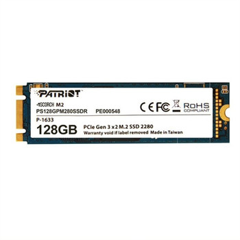 Patriot Memory Scorch 128 GB Solid State Drive - M.2 2280 Internal - PCI Express (PCI Express 3.0 x2)