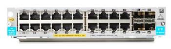 HPE 20-port 10/100/1000BASE-T PoE+ / 4-port 1G/10GbE SFP+ MACsec v3 zl2 Module