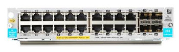 HPE 20-port 10/100/1000BASE-T PoE+ / 4-port1G/10GbE SFP+ MACsec v3 zl2 Module
