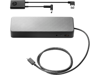 HP 4.5mm and USB Dock Adapter - 5 V DC Output