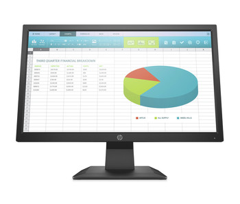 "HP P204 19.5"" HD+ LED LCD Monitor - 16:9 - Black - Twisted nematic (TN) - 1600 x 900"