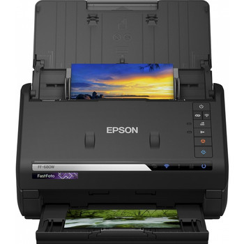 Epson FastFoto FF-680W Sheetfed Scanner - 600 dpi Optical