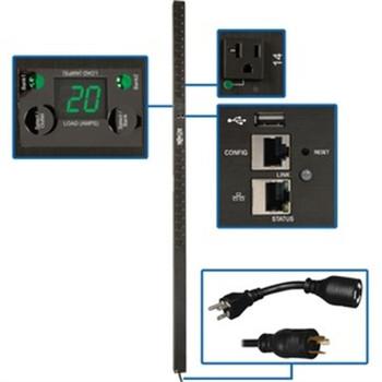 Tripp Lite PDU Switched 120V 20A 24 5-15/20R L5-20P LX Interface 0URM TAA