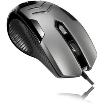 Adesso Multi-Color 6-Button Gaming Mouse