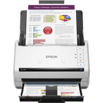 Epson WorkForce DS-770 Sheetfed Scanner - 600 dpi Optical