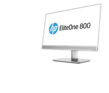 HP EliteOne 800 G4 W10P-64 i3-8300 3.7 128G SSD 8GB (1x8GB) DDR4 2666 23.8 FHD NIC WLAN BT ODD Cam No-Card Reader