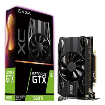 EVGA GeForce GTX 1660 Ti Graphic Card - 6 GB GDDR6 - 06GP41263KR