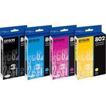 Epson DURABrite Ultra 802 Ink Cartridge - Black