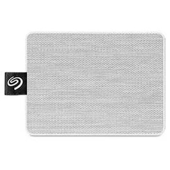 """Seagate One Touch STJE500402 500 GB Portable Solid State Drive - 2.5"""" External - White"""