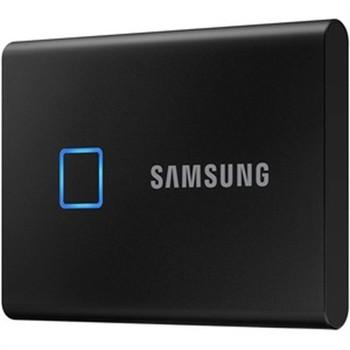 Samsung T7 MU-PC2T0K/WW 2 TB Portable Solid State Drive - External - PCI Express NVMe - Black