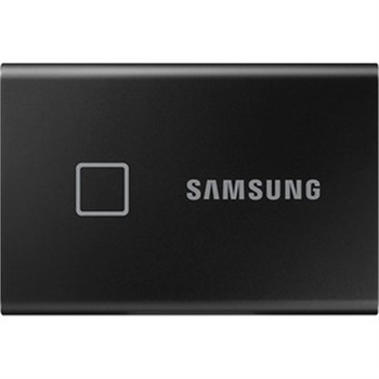 Samsung T7 MU-PC1T0K/WW 1 TB Portable Solid State Drive - External - PCI Express NVMe - Black