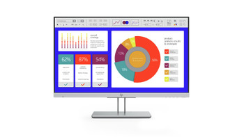 """HP E243p 23.8"""" Full HD LED LCD Monitor with HP SureView built-in Privacy Screen - 16:9 - Black"""