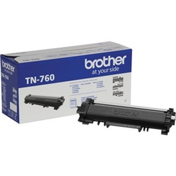 Brother TN760 Original Toner Cartridge - Twin-pack - Black