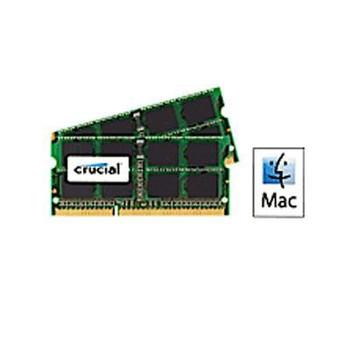 Crucial 8GB (2 x 4 GB) DDR3 SDRAM Memory Module - CT2K4G3S160BJM