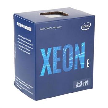 Intel Xeon E 2124G Quad-core (4 Core) 3.40 GHz Processor - Retail Pack