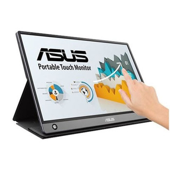 "Asus ZenScreen MB16AMT 15.6"" LCD Touchscreen Monitor - 16:9 - 5 ms GTG"