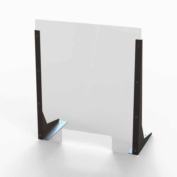 """Acrylic Cough & Sneeze Barrier - 20"""" Wide/24"""" Height"""