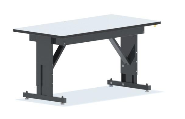 "Heavy Duty Height Adjustable ESD Workbench - 48"" x 30"""
