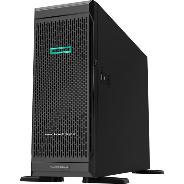 HPE ProLiant ML350 G10 4U Tower Server - 1 x Intel Xeon Silver 4208 2.10 GHz - 16 GB RAM HDD SSD