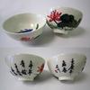 Porcelain Tea Cup Set (Set of 6)