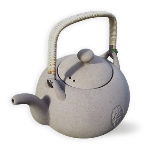 Taiwan Tea Kettle - Stoneware - Type 1