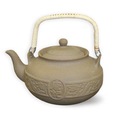Taiwan Tea Kettle - Stoneware - Type 2