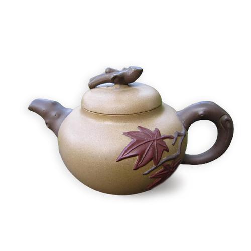 Taiwan Duan-ni Maple Leaf Teapot 017