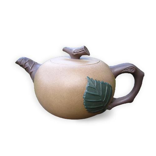Taiwan Duan-ni Green Leaf Teapot 020