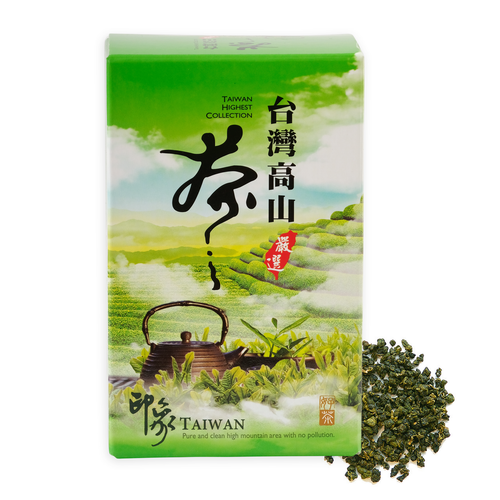 Kingfisher Jade Organic Oolong from Taiwan 300 grams. Premium From The Source High Mountain Taiwan Oolong.