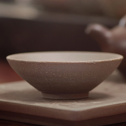 Taiwan Teacup 003 (Lava Clay)