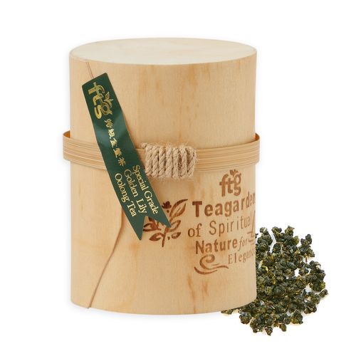 Certified Organic Taiwan Golden Lily Oolong High Elevation Tea - 50 grams