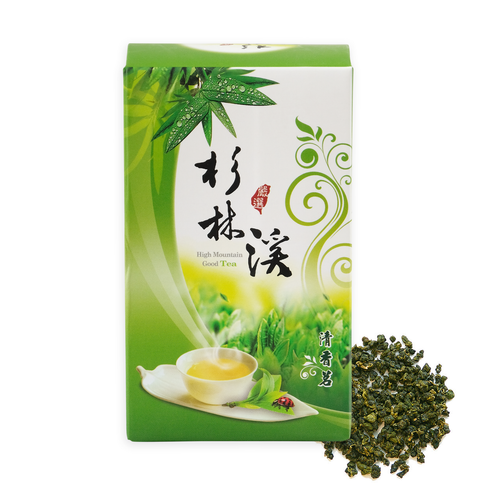 Kingfisher Jade Organic Oolong from Taiwan 75 grams. Premium From The Source High Mountain Taiwan Oolong.