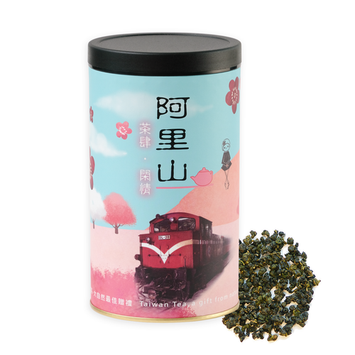 Premium Taiwan Loose Leaf Oolong Tea Golden Lily Certified Organic  150 grams (5.3 oz)