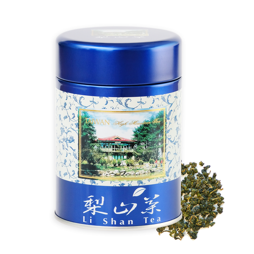 Pear Mountain Li Shan Premium Loose Leaf Taiwan Certified Organic Oolong 75 grams