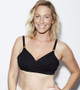 Arden Naked All on One Nursing and Handsfree Pumping Bra in Black