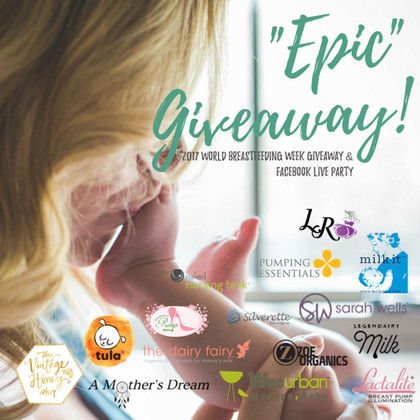 WBW EPIC giveaway, hosted by Sarah Wells and including over $3,000 in prizes
