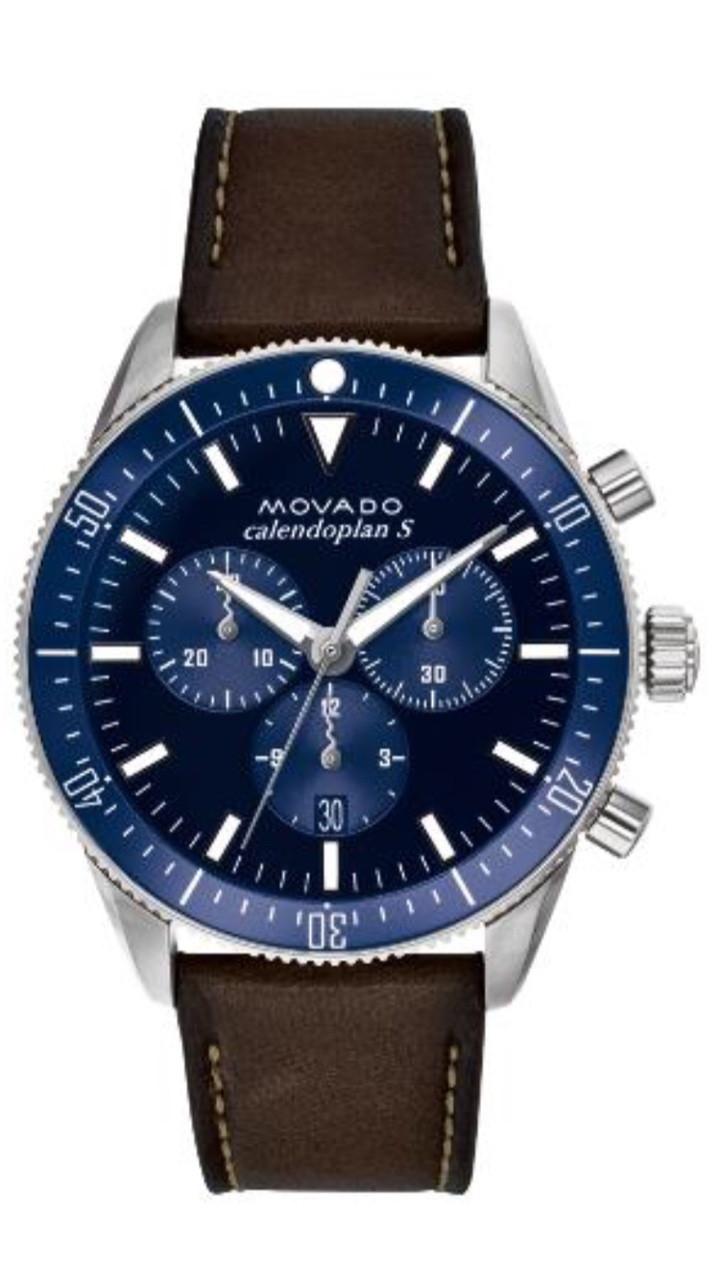 c66c29487 3650061 Men's Movado Heritage Series Calendoplan S chronograph 43 mm ...