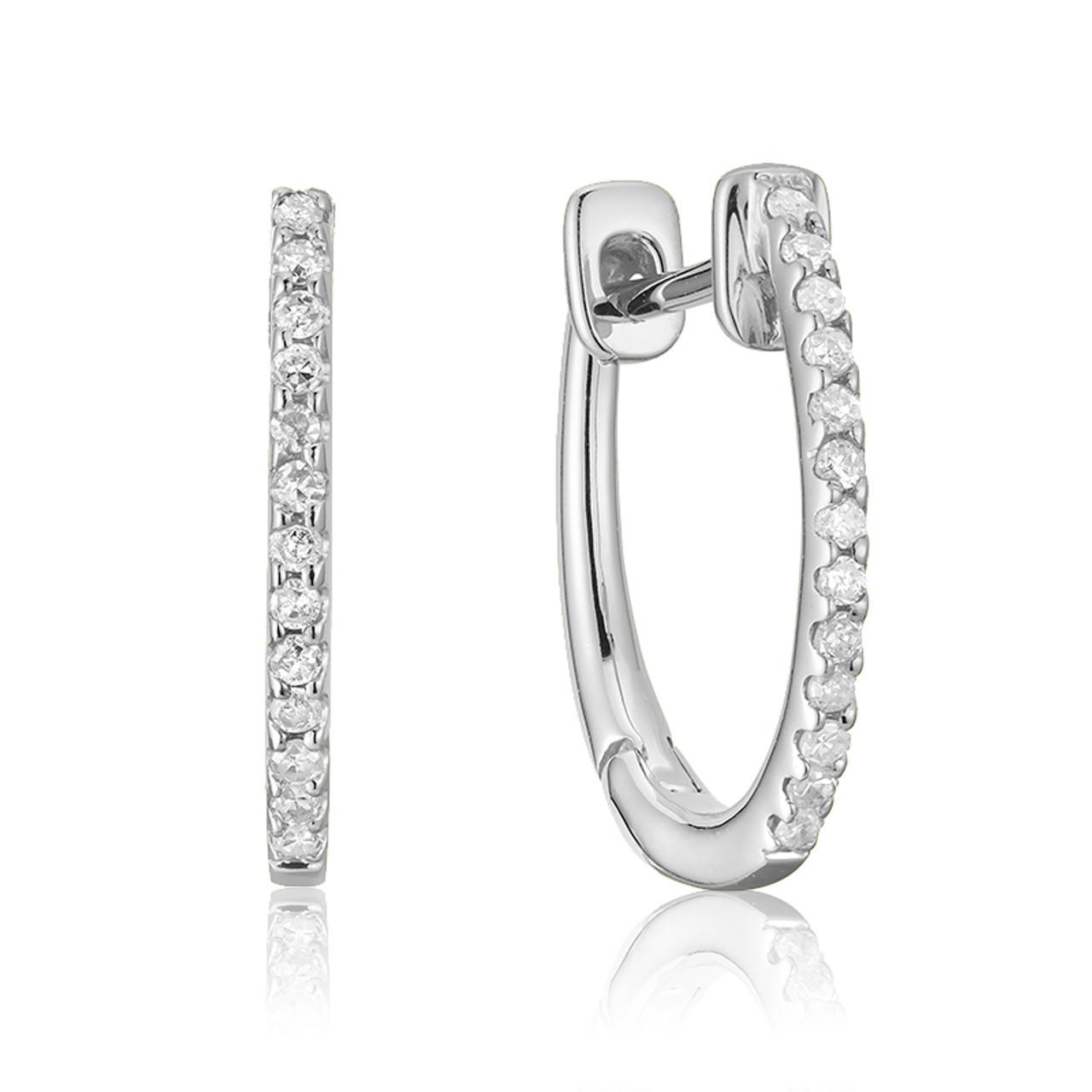 d8a8aa4552968 DIAMOND LOOPS EARRING #13-040080
