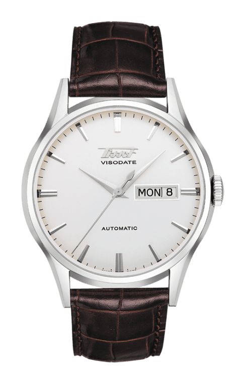 Gent's automatic Visodate, brown leather