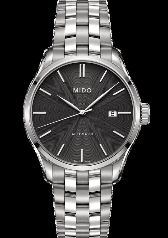 Mens Belluna, Grey dial, Stainless Steel bracelet