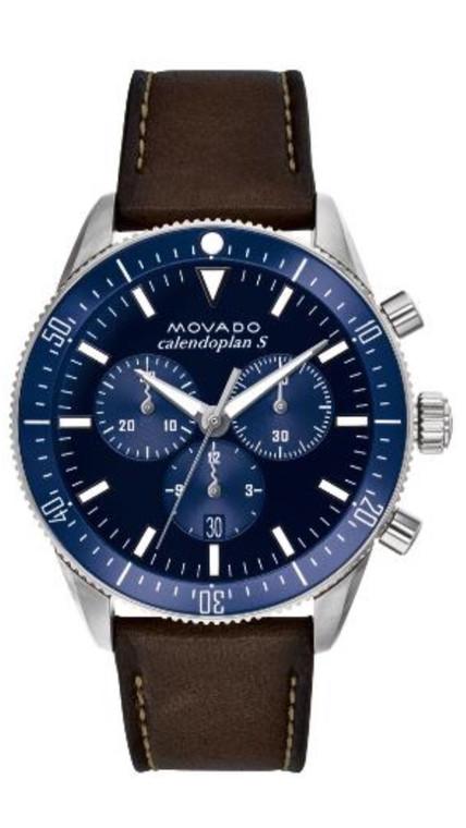 3650061 Men's Movado Heritage Series Calendoplan S chronograph